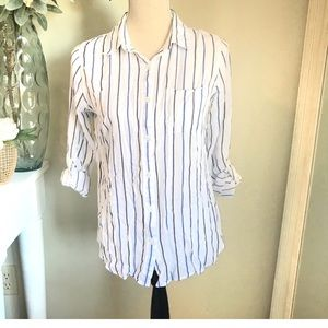 Thread & Supply Button-down Collared Shirt, Size S